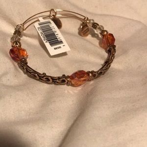 "Alex & Ani Enchanted ""Golden Days"" Charm Bracelet"